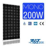 Mono painéis solares populares da potência 200W para o uso Home