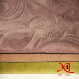 Tejido de tapicería Polyester Suede Velvet Sofá Tejido Tejido de cortina