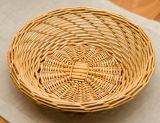 Cesta utilitaria antigua hecha a mano del sauce de cesta de mimbre (BC-ST1250)