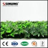 50 подгонянная X50cm загородка ПЛЮЩА пластичных листьев искусственная