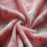 Stof van de Stof van het Flanel van de Polyester van 100% de Comfortabele en Goedkope voor Beddegoed/Pyjama's