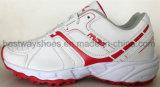 Chaussures de sports de chaussures en cuir d'unité centrale de chaussures d'hommes avec TPR Outsole
