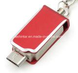 USB3.0는 USB 기억 장치 지팡이 금속 소형 전화 USB를 방수 처리한다