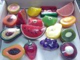 Vertoning die de Natuurlijke Zeep van de Vorm van het Fruit voor de Verkoop van de Winkel inpakken