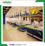 Customized Supermarket Retail Store Checkout Counter Cash Counter