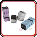 Rectángulo de regalo de empaquetado del perfume de la impresión de la cartulina de encargo del papel
