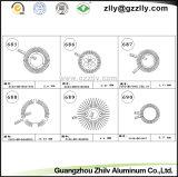 Gietend Aluminium Heatsink voor Schijnwerper en Downlight