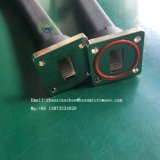 Guide flexible d'onde de torsion de dispositif de communication par satellites