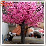 Fleur de cerise artificielle rose d'arbre pour la décoration de jardin
