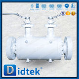 Blocchetto integrale di Didtek doppio ed isolamento doppio della sfera della valvola di scarico e valvola a sfera di scarico dell'ago