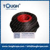 Stark der Handkurbel-Seil-synthetisches Seil-Handkurbel-UHMWPE (Haken) warnen Seil