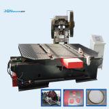 El tanque del calentador de agua y línea solares del producto del equipo de la soldadora de la fabricación del soporte