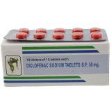 Le sodium de diclofénac marque sur tablette 50mg Medipahrm