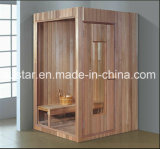 De stevige Houten Zaal van de Sauna met Aangepaste Grootte (bij-8607)