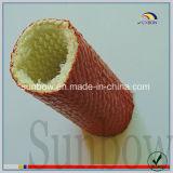 Résistance à la flamme à haute température en caoutchouc de silicone en fibre de verre