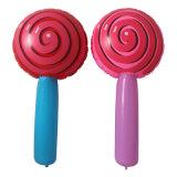 Parte Vocal Cncert juguetes inflables de PVC Lollipop LED