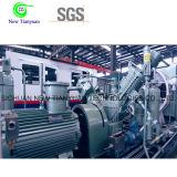 compresor de pistón nominal del aumentador de presión del gas de metano del volumen 1.25m3/Min
