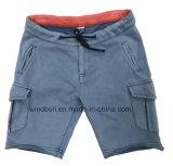 Retro Shorts di stile per il ragazzo con lavata di pietra