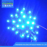 9mm LED 화소 노출 끈 가벼운 광고 빛