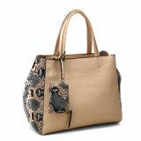 Fashion Python Woman Purse and Handbags (MBNO040083)