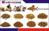 Estirador gemelo seco de la alimentación del perro de animal doméstico del tornillo