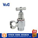 Латунные высокой полировки клапана угла поворота с помощью рукоятки (VG-E12641)