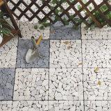 Natürliche Steinstraßenbetoniermaschine-Mosaikdecking-Fußboden-Fliese