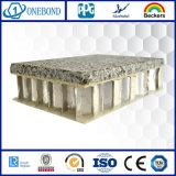 Panneau composite en pierre en forme de nid d'abeille en aluminium pour la décoration