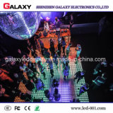 Sala de baile interactiva de P6.25/P8.928 Digitaces LED con la pantalla sensitiva al contacto del LED