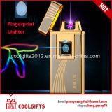 Лихтер дуги новой индукции фингерпринта конструкции двойной порученный USB электрический