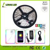 Wi-Fi à prova d'água 5050 SMD RGB LED Strip Light Kit