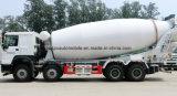 tonnes lourdes Sinotruck HOWO de colle de 8X4 35 du mélangeur 30 de m3 de camion de béton