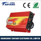 Bajo precio de 60 a 12V mini coche cargador de batería portátil universal
