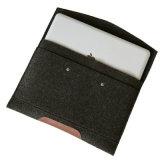 Entwerfer spornte Beutel China/billig faltenden Dokumenten-Filz-Beutel des Umschlag-Box/2013 für iPad an