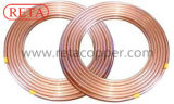 Tubo de cobre de la crepe para la HVAC