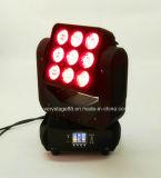 9 parti di 10W dell'indicatore luminoso capo mobile LED del fascio tagliente (VS0910)