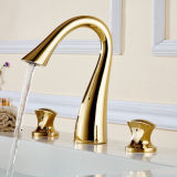 Moinho de banho contemporâneo Concise Bathroom Faucet Dual Holder