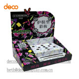 Cartón corrugado visualización caja de la caja de visualización del contador de cosmética