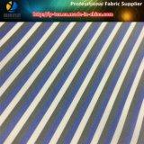 Проворная подкладка втулки голубой нашивки товаров в пряже покрашенной для одежды (S43.47)