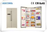 Étalage de supermarché et réfrigérateur en gros d'étalage de nourritures