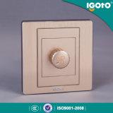 Interruptor regulamentar elétrico da parede do controle de velocidade do ventilador do padrão britânico de Saso