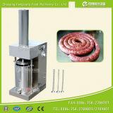 Mini llenador hidráulico de la salchicha GS-12, máquina de relleno de salchicha, salchicha que hace la máquina