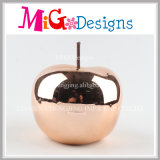 Hand-Printing Apple Ceramic OEM Welcome Coin Box