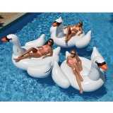 Großartige Idee Kurbelgehäuse-Belüftungaufblasbarer Swim-Pool-Gleitbetriebs-Schwan