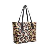 Sacchetto di Tote delle donne di stile elegante della stampa del leopardo (MBNO042052)