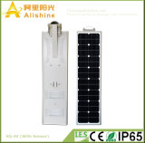 40W 5 años de garantía LED todo en una lámpara de la energía solar con la batería de la vida Po4