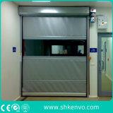 Дверь Завальцовки Ткани PVC Высокоскоростная для Чистой Комнаты