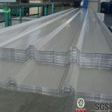 Hojas de acero galvanizadas cubiertas color del material para techos del hierro
