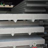 건축재료 격리된 강철 PU 샌드위치 칸막이벽 위원회