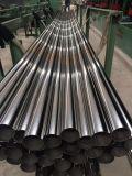Tuyau en acier inoxydable AISI201 forme ronde avec poli brillant de haute qualité de fournisseur de la Chine
